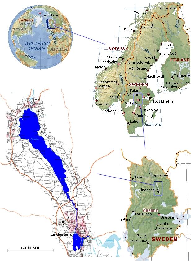 lindesberg karta Kartan lindesberg karta